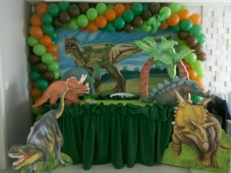 Gud Grud Decoraç u00e3o de festa infantil do tema dinossauros em Curitiba # Decoraçao De Dinossauro Para Festa Infantil